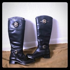 Women's Michael Kors riding boots size 8
